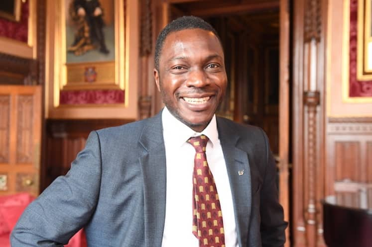 Nigerian born Ugbana Oyet gets special appointment from Queen Elizabeth, becomes new Sergeant at Arms