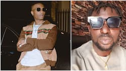 Singer Wizkid gets a 'knock' on the head from Blackface over harsh comments made to President Buhari