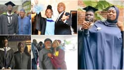 5 popular Nigerian personalities whose kids just graduated from school, adorable photos light up the net