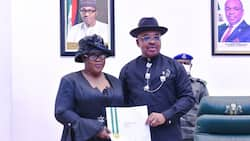 Justice Obot sworn in as Chief Judge of Akwa Ibom state