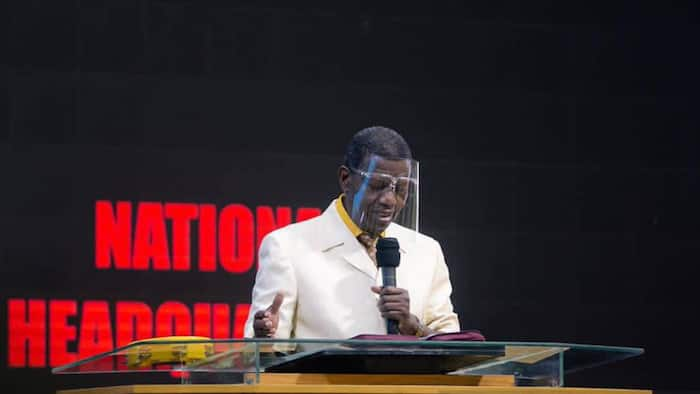 I'll take COVID-19 vaccine: Pastor Adeboye surprises members, tells them to go for it