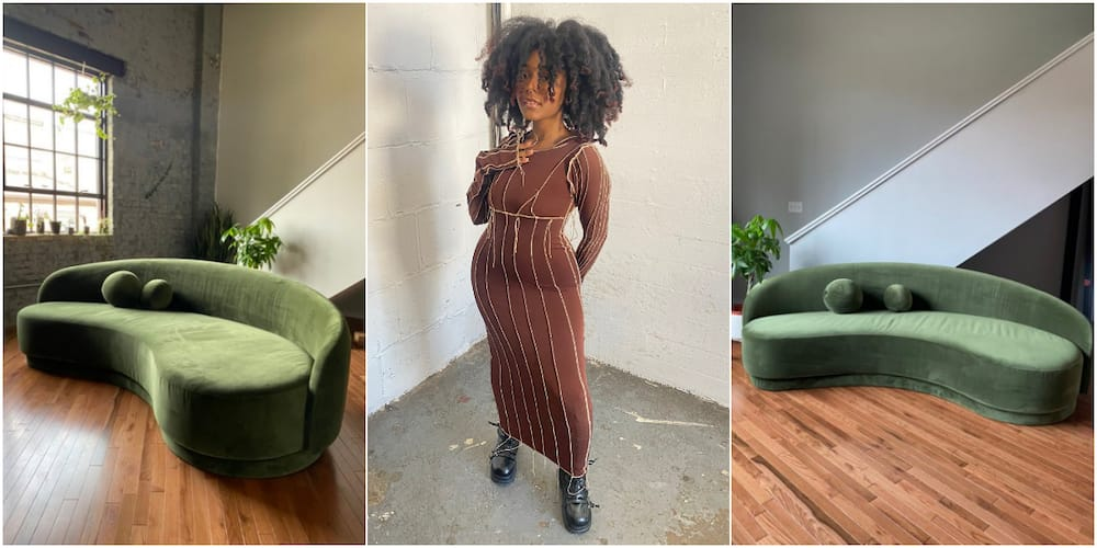 After buying a house at 19, lady shares photos of adorable couch, stirs massive reactions