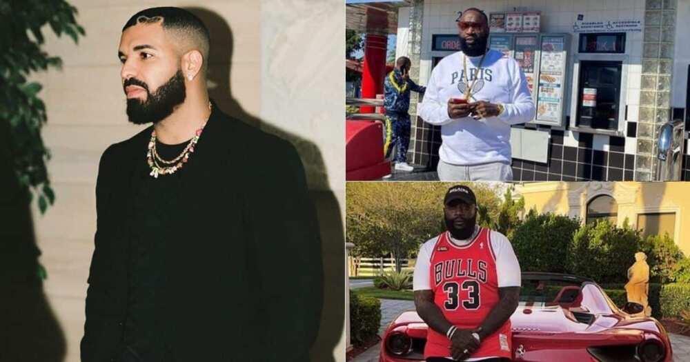 "Drake, Rick Ross, ""greatest"", rapper alive"