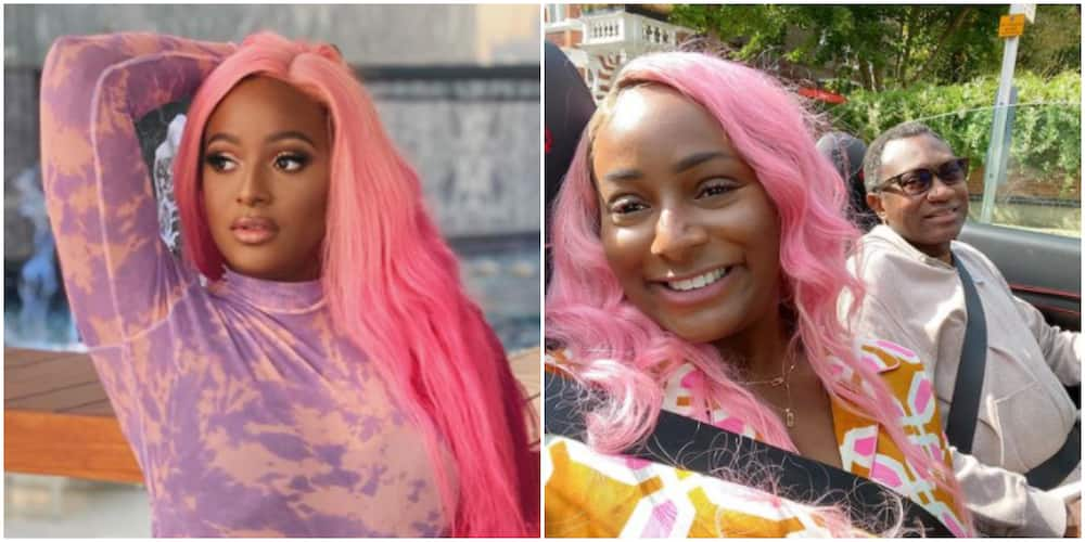 Don't ever take my kindness for weakness, DJ Cuppy and her father send out warning