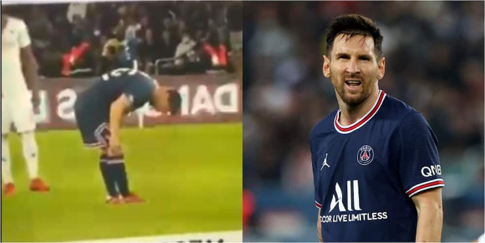 Messi spotted limping in training, spends whole day in treatment room