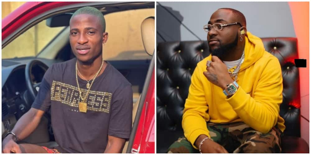 Actor Alesh Sanni hails Davido as he shares recent encounter with singer