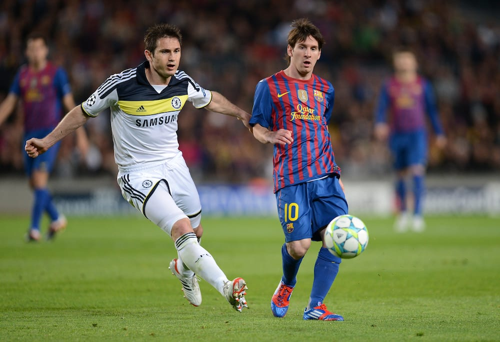 Frank Lampard and Messi