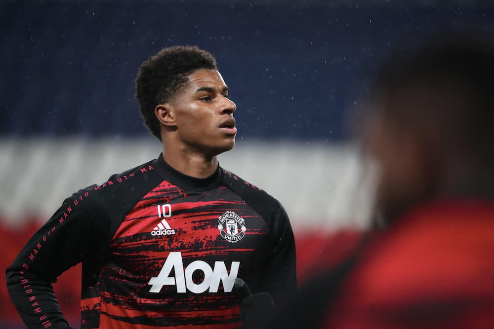Marcus Rashford leads Champions League scoring charts with 4 goals