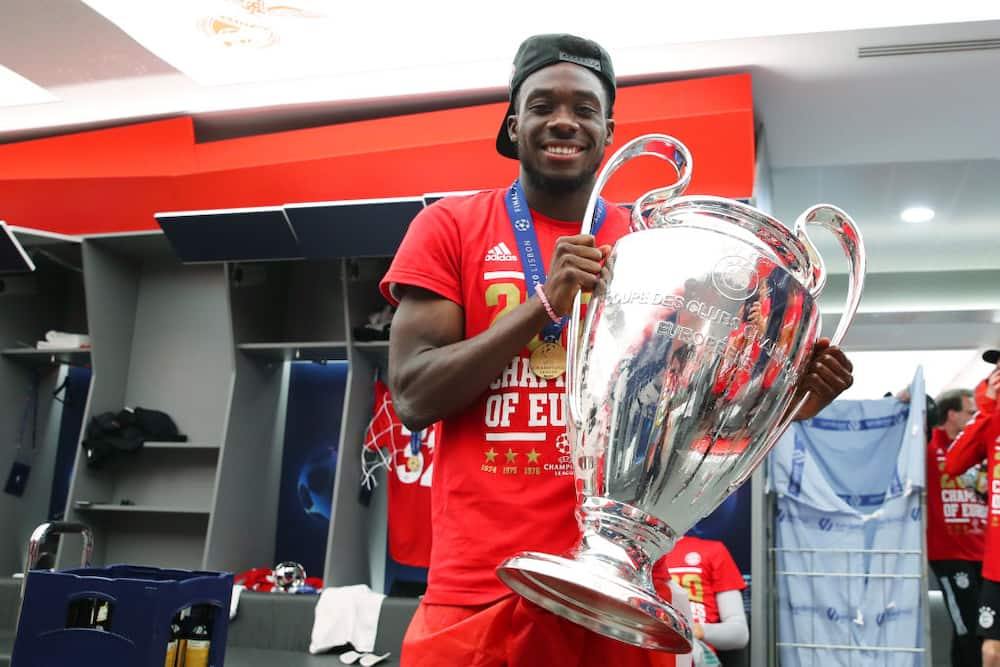 Alphonso Davies tops list of most valuable footballers born after year 2000