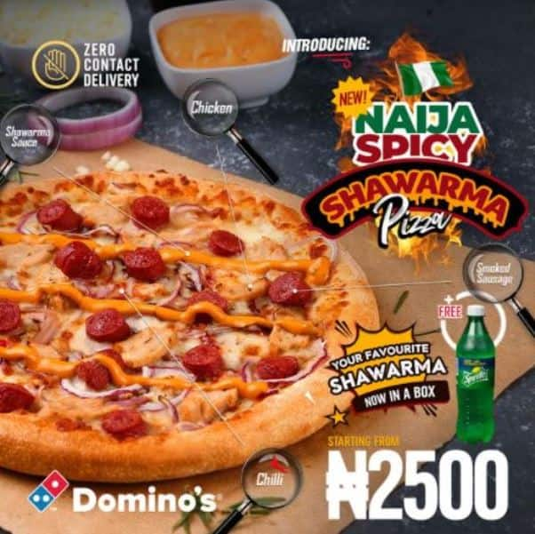 Domino's Pizza wraps us around their fingers with their new delicious shawarma offerings