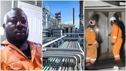 Nigerian man gets 'big' job with oil company, says he got 2 employment offers in 1 year, thanks social media