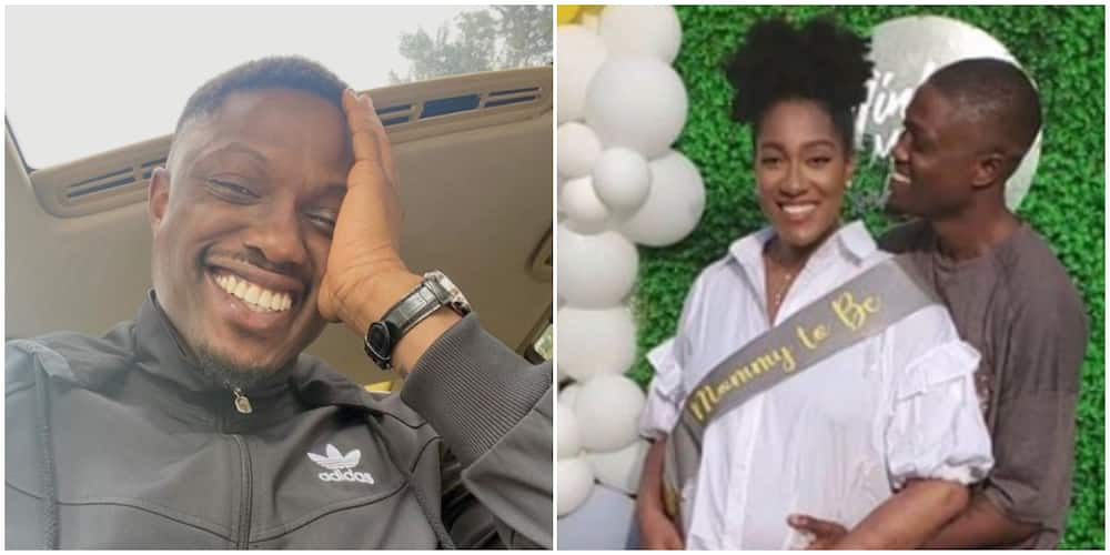 Photos: Rapper Vector and his girlfriend welcome their first child