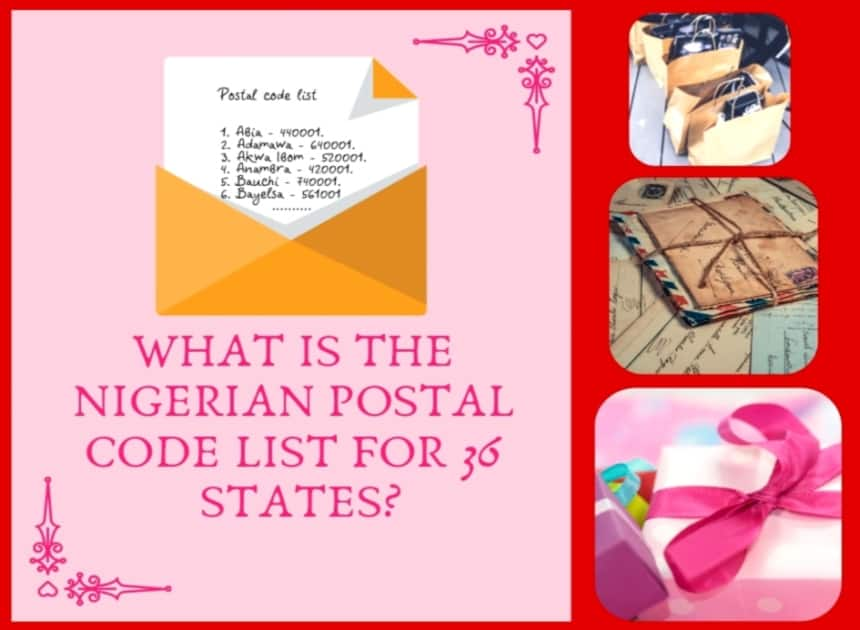 Nigeria postal code list for all 36 states