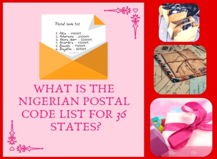 Full Nigeria Postal Code List For All 36 States Legit Ng