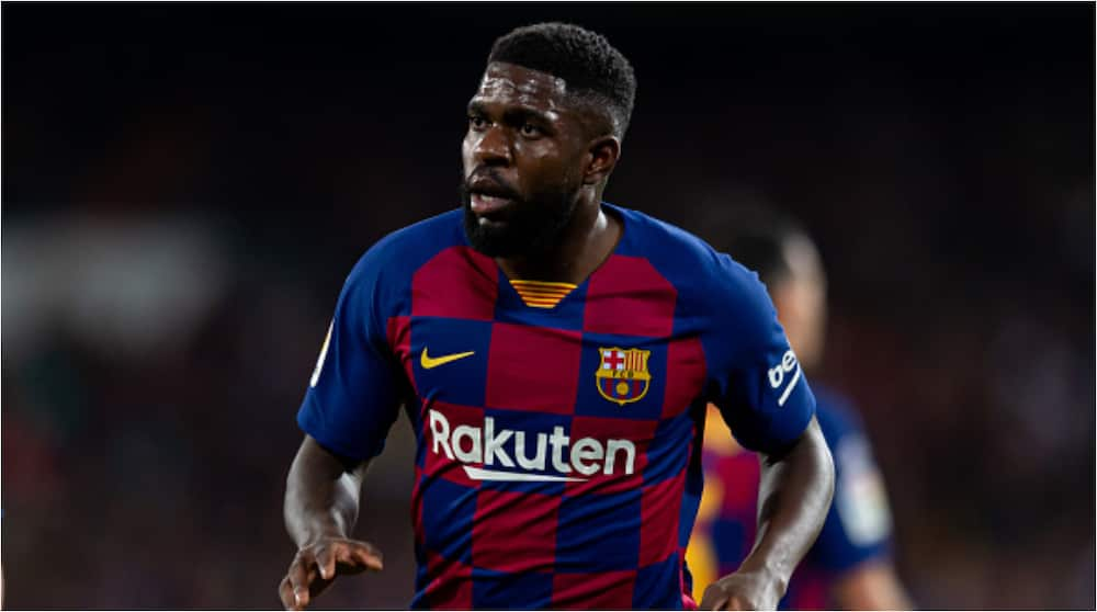 Samuel Umtiti recovers fully from COVID-19, set to join teammates in training
