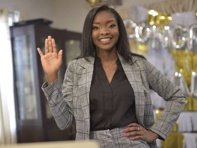Joy as lady who was told she couldn't become an attorney emerges 1st attorney in her family