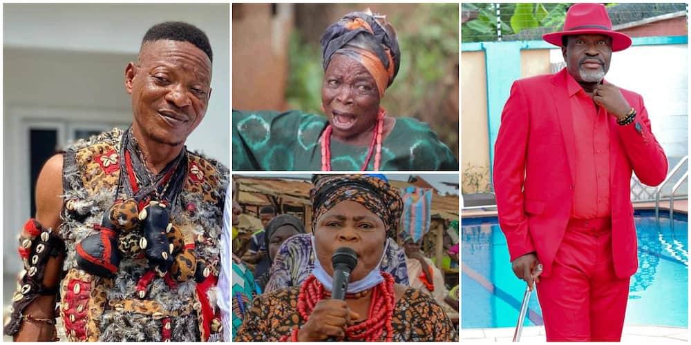 Nollywood stars linked to the occult because of their roles in movies.