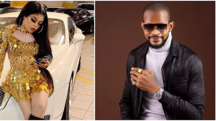 Nobody can compete with your Jesus wept filter: Uche Maduagwu drags most-talked-about celeb with Bobrisky