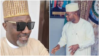 Dino Melaye reacts as Yahaya Bello says all Nigerians are asking him to run for president