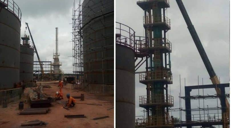 Edo state House of Assembly members tour 6000bpd Edo Modular Refinery