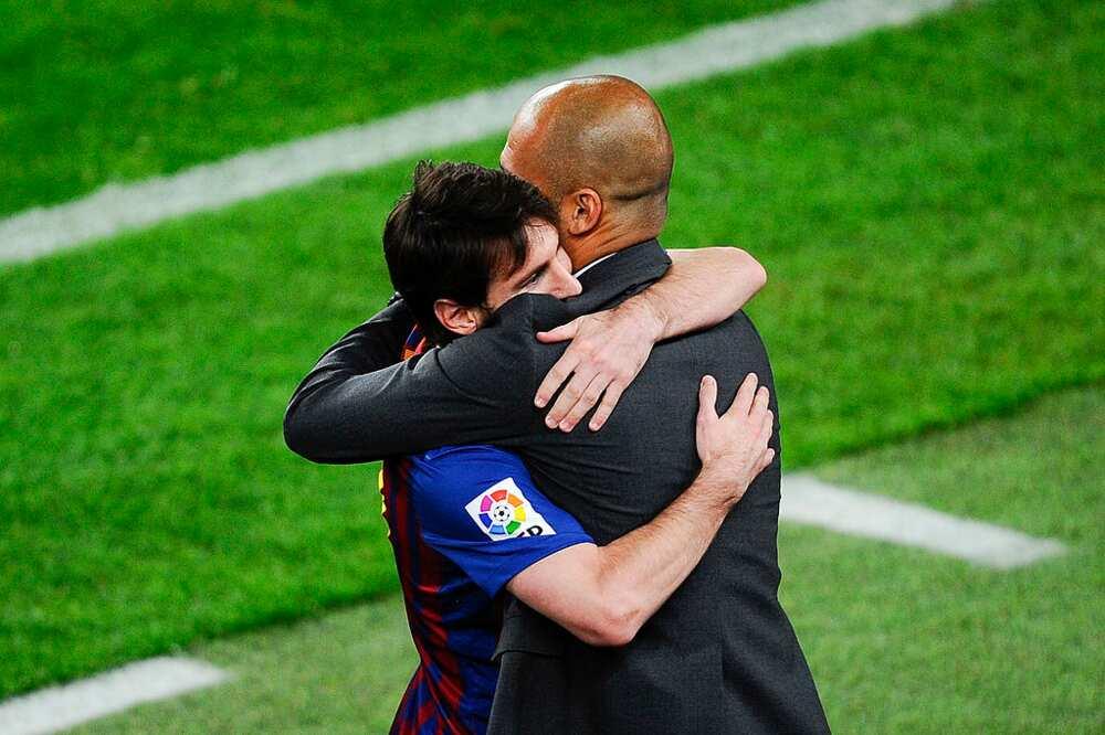 Lionel Messi hails former Barcelona manager Pep Guardiola amid Man City links