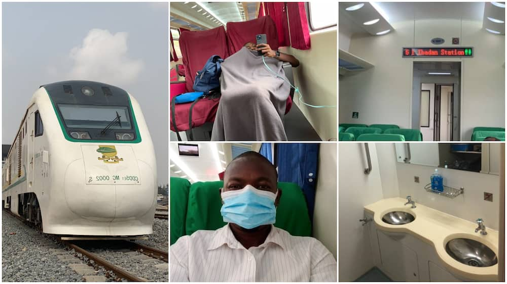 Nigerians share their train exprience, says AC is too cold
