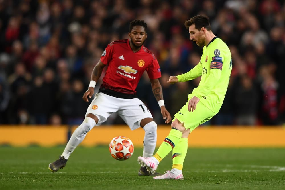 Fred and Messi.