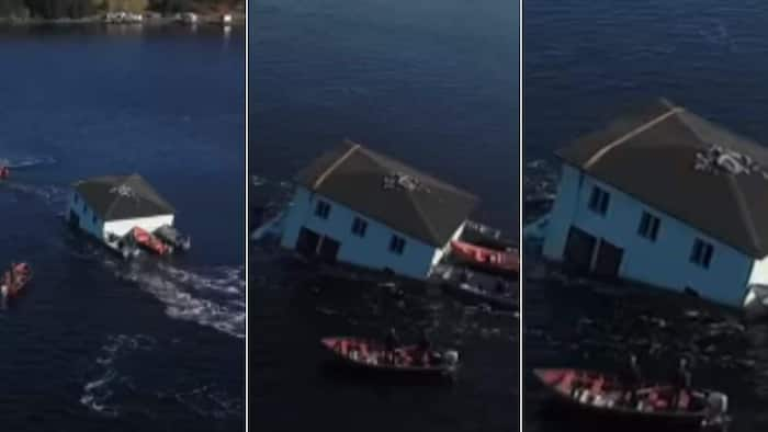 Couple move entire house across the ocean, wow world with their action