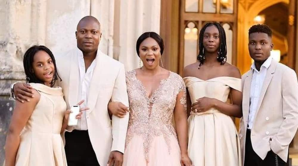 Yakubu Aiyegbeni's Wife Shares Adorable Family Portrait Photos, Gushes About Her Husband's Stunning Look