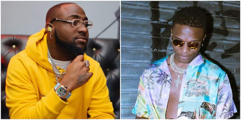 Davido reacts to getting snubbed by Wizkid after congratulating him for MIL album (video)