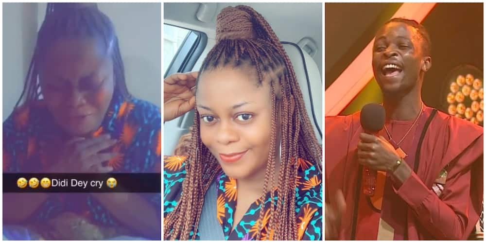 Actress and designer Didi Ekanem shares emotional video as she celebrates Laycon's victory
