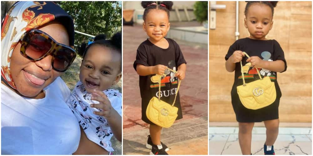 Actress Ruth Kadiri leaves fans gushing over lookalike daughter's cute photos
