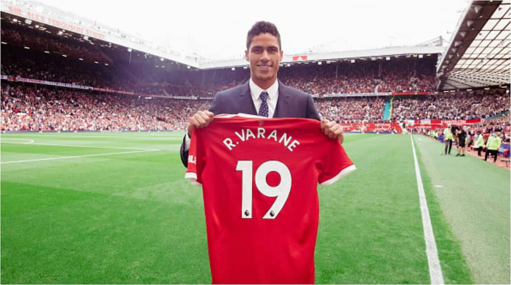 Man United finally reveal jersey number Raphael Varane will wear after penning 4-year deal