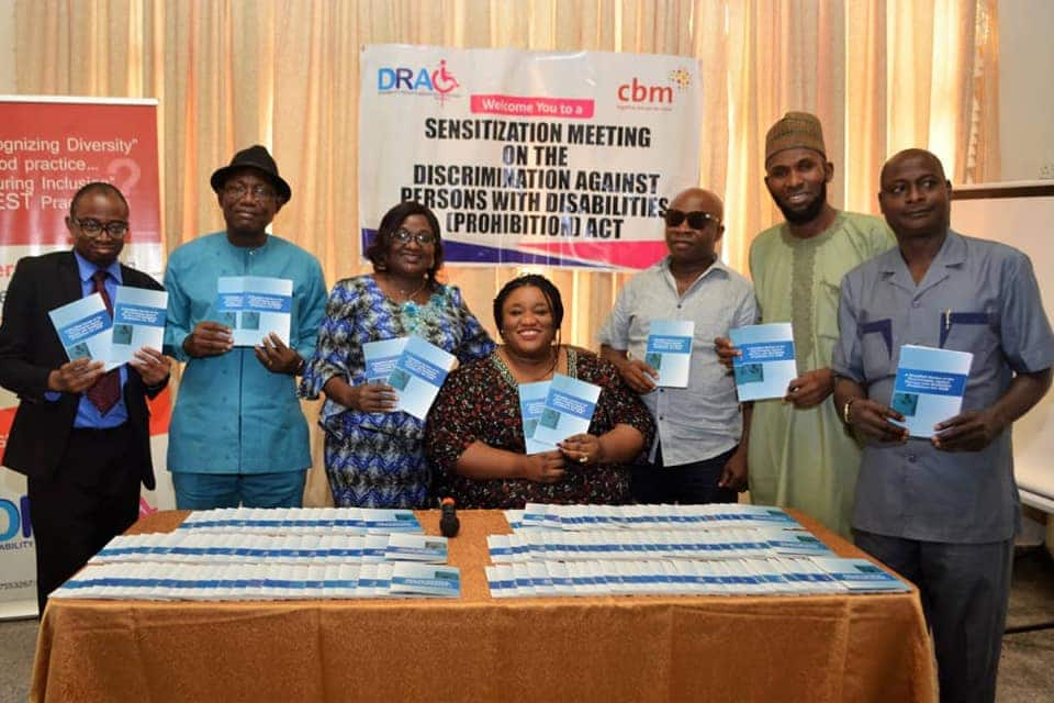 NGO launches simplified version of Disabilities Prohibition Act signed by Buhari