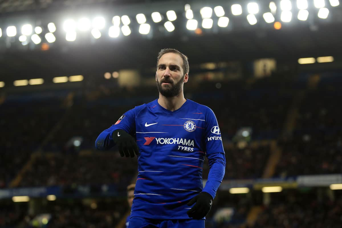 Chelsea fans want Argentine forward Gonzalo Higuain out of Chelsea this summer