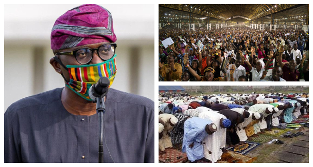 COVID-19: Lagos State Government Warn Religious Leaders Against Second  Wave Of The Pandemic