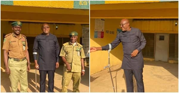 After being sentenced to 7 years in prison, PDP chieftain finally regains freedom (photos)
