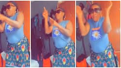 Woman shows great dance skills as she switches from Davido's song to the focus dance in style, video wows many