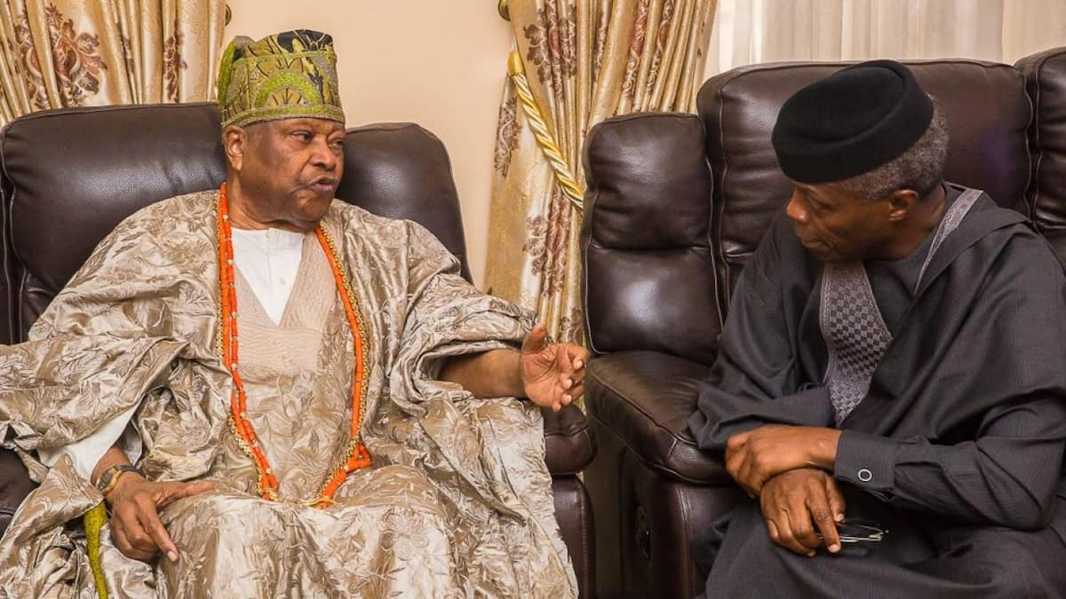 We are consulting with traditional rulers to improve security in local communities - Osinbajo - Legit.ng