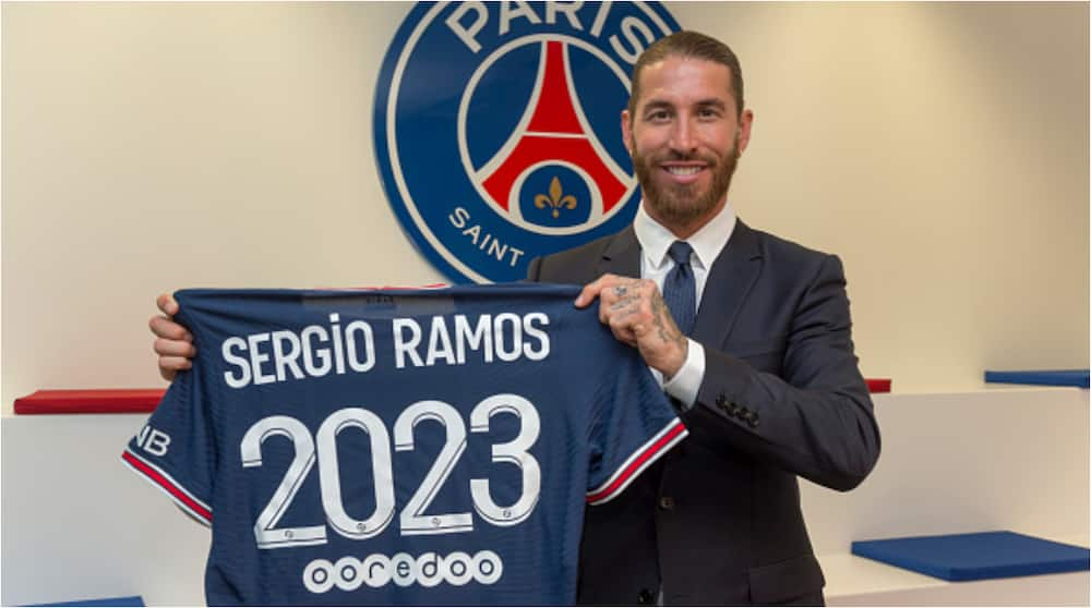 Angry Sergio Ramos Takes Swipe at Spanish Club Real Madrid After Completing PSG Transfer