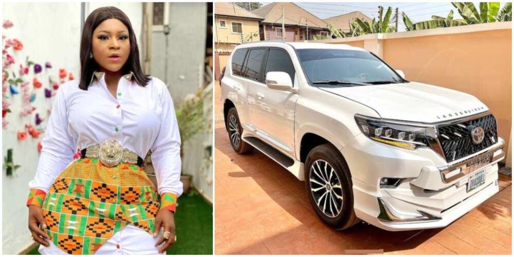 Destiny Etiko fires back after blogger alleged a man got actress her new car