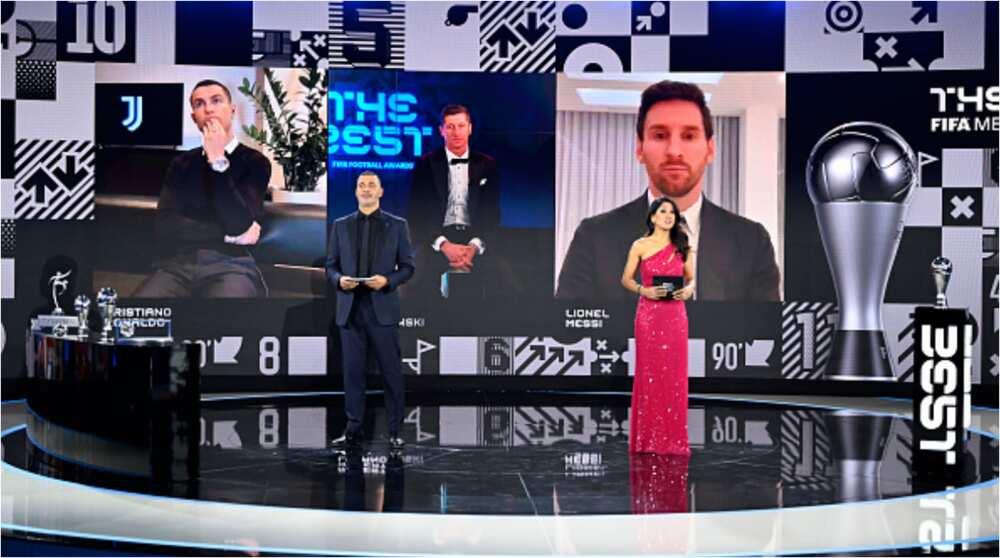 Lionel Messi: Barcelona captain snubs Ronaldo in FIFA awards having voted for PSG duo