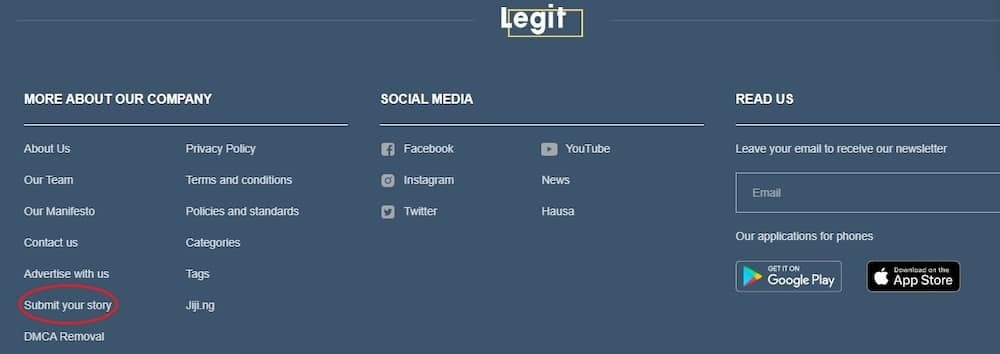 How to become a Legit.ng contributor and share your own story