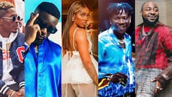 First record labels of Wizkid, Davido, Shatta Wale, Olamide, Tiwa Savage, Sarkodie, 9 other popular singers