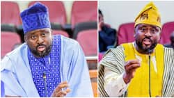 Desmond Elliot breaks down on live TV as he reacts to backlash against recent comments
