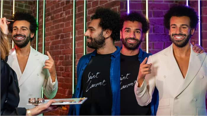 Liverpool superstar Mohamed Salah stunned after meeting his 'twin'