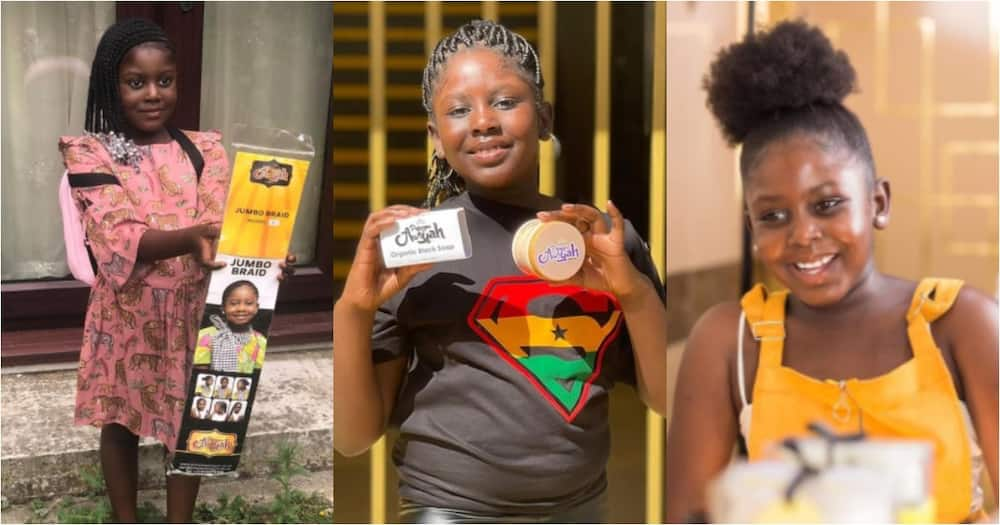 Princess Awiyah: Meet the Ghanaian business girl who launched her hair brand at age 6