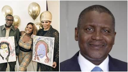 Billionaire Dangote wishes DJ Cuppy a happy birthday as her parents paint hilarious picture of her as she turns 26th birthday (video, photos)