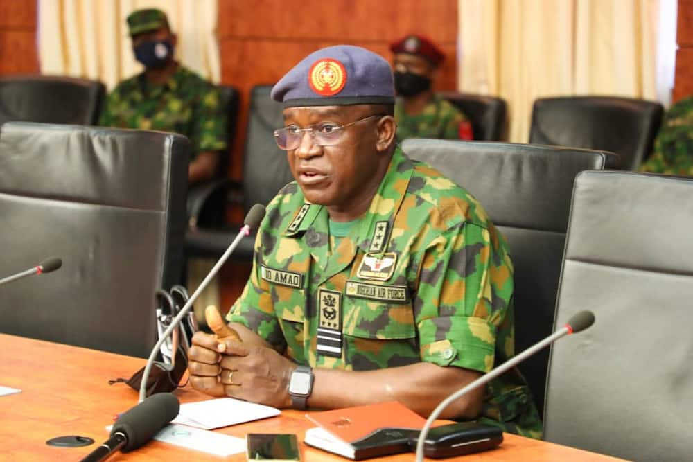 BREAKING: Chief of Air Staff arrives Maiduguri to coordinate search for missing NAF aircraft