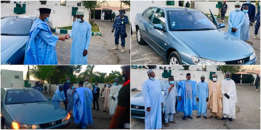 Man receives car gift after trekking from Sokoto to Bauchi for Governor Mohammed